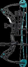 Black Carbon Knockout Compound Bow