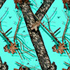country roots teal color swatch